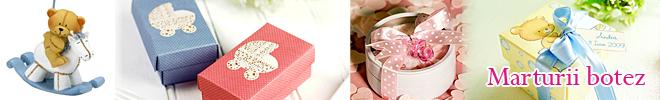 Marturii de botez din ceramica, portelan, cristal Mika Design