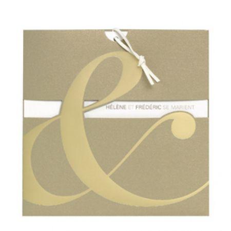 Invitatii nunta aurii - poza 1