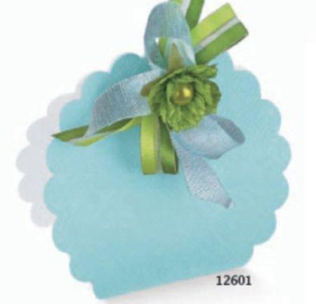 Cutie tip borseta de culoare bleu