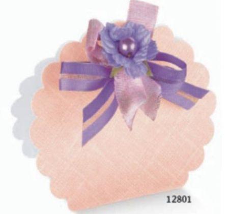 Cutie tip borseta de culoare roz
