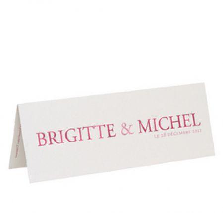 Invitatie pentru nunta personalizata cu numele mirilor - poza 1
