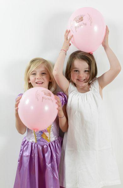 Balon roz Princess - poza 4