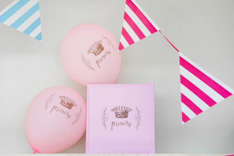 Balon roz Princess - poza 5