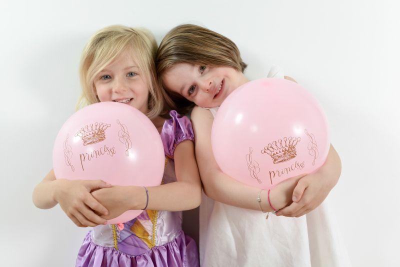 Balon roz Princess - poza 2