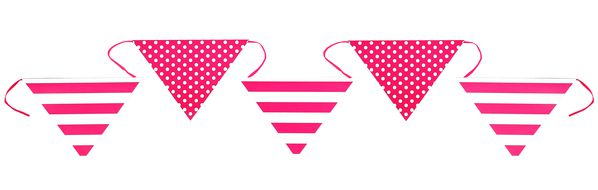 Banner decorativ Pink Party