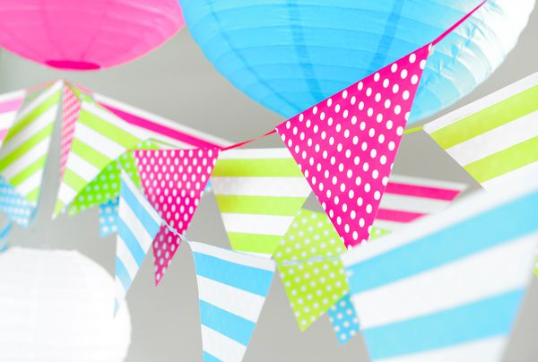 Banner decorativ Pink Party - poza 3