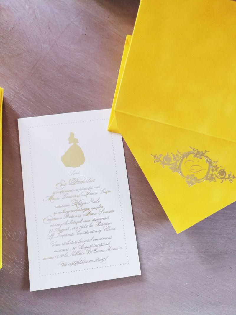 Invitatie botez BELLE - poza 3
