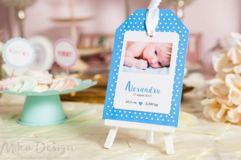 Invitatii De Botez Cu Poza Bebelusului Comanda Online