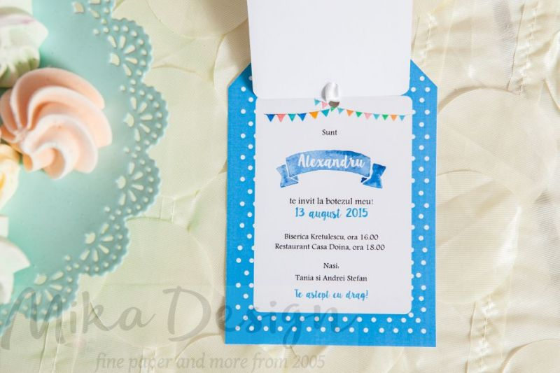Invitatie Botez Baiat Cu Poza