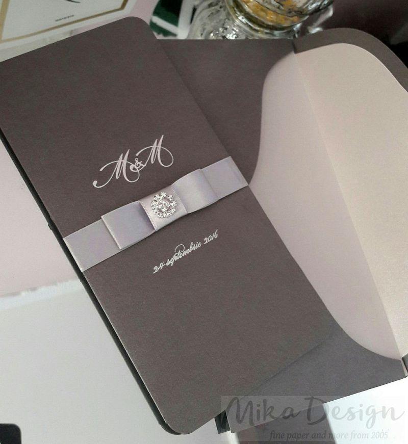 Invitatie nunta argintie - poza 2