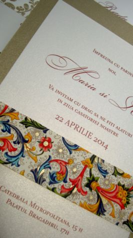 Eleganta si rafinament invitatiei la nunta - poza 5