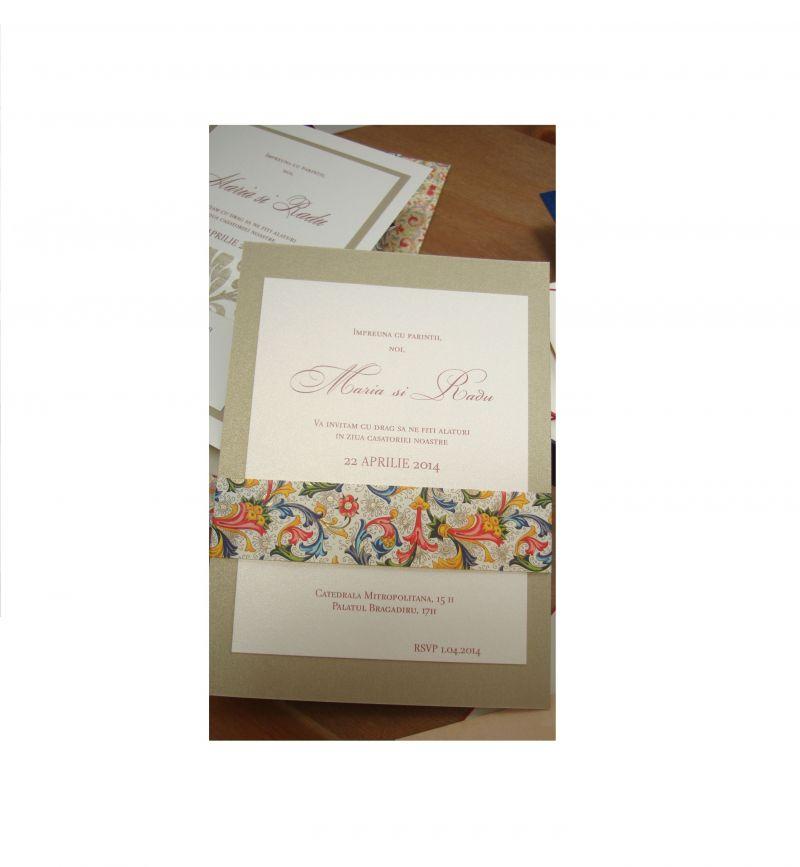 Eleganta si rafinament invitatiei la nunta - poza 1