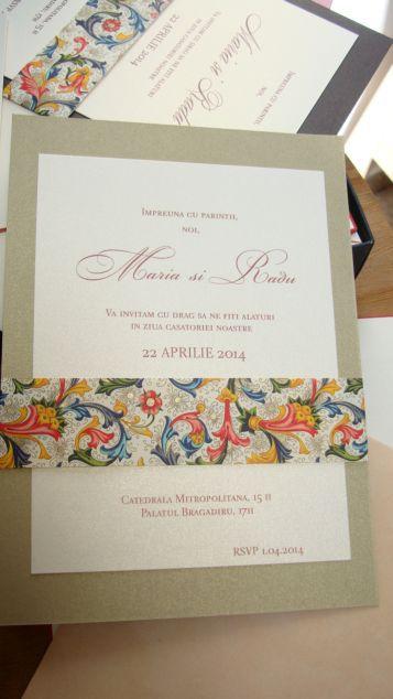 Eleganta si rafinament invitatiei la nunta - poza 2