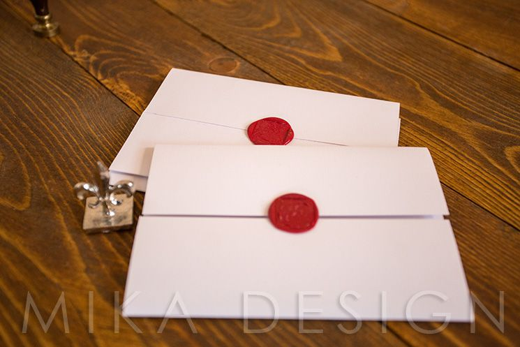 Invitatie nunta monograma relief