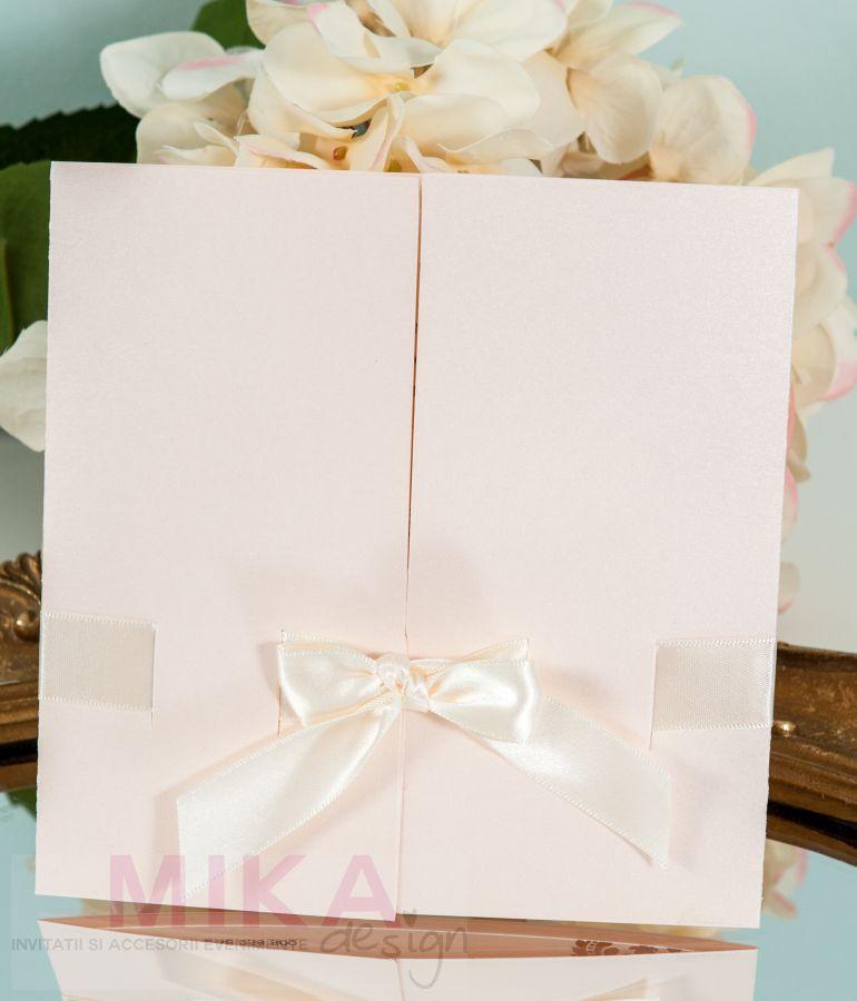 Invitatie nunta rose pal - poza 2