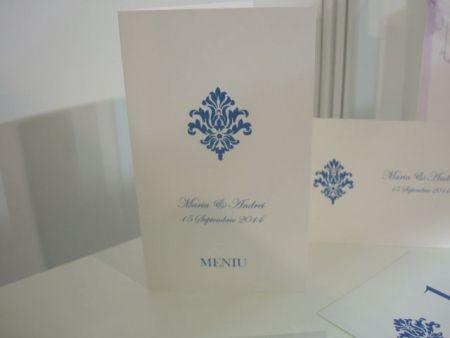 Meniu albastru regal - poza 1