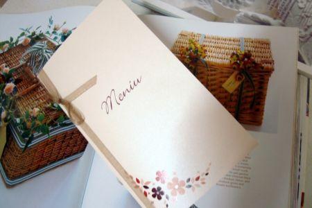 Meniu nunta cu tematica rustica - poza 1