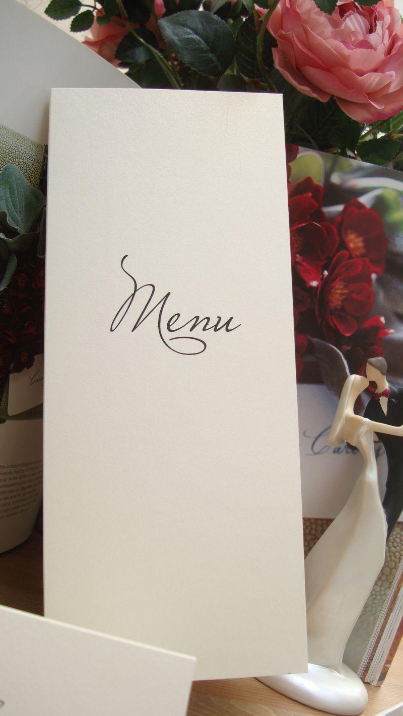 Meniu nunta elegant - poza 1