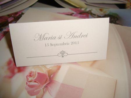 Carduri masa nunta elegant - poza 3