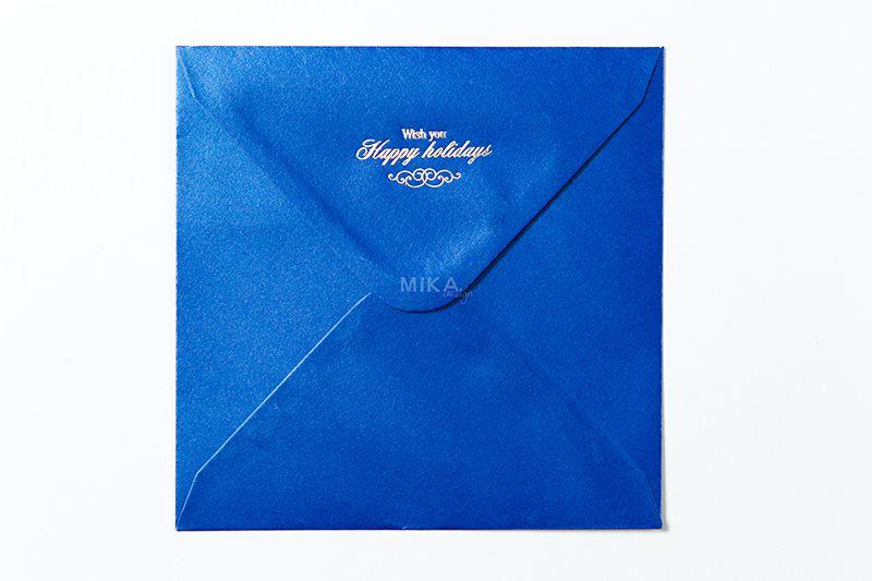 Plic albastru sidefat personalizat - poza 4
