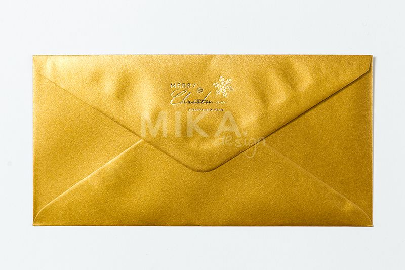 Plic auriu personalizat - poza 2