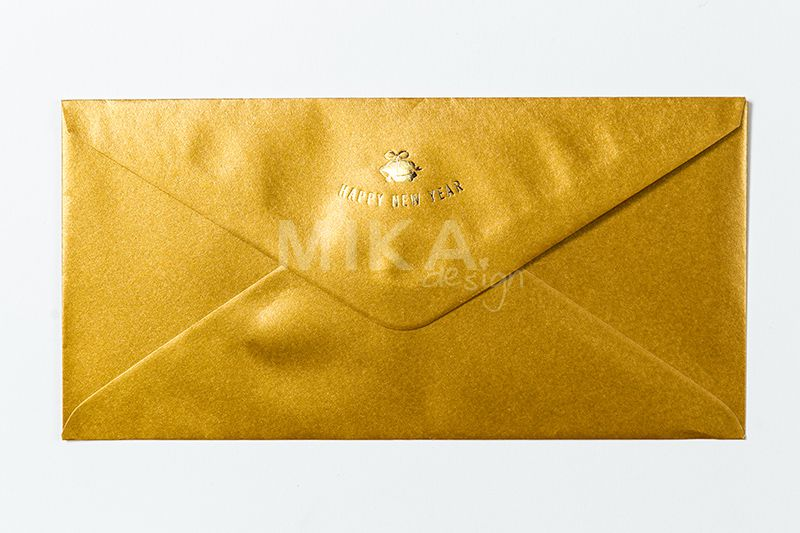 Plic auriu personalizat - poza 3