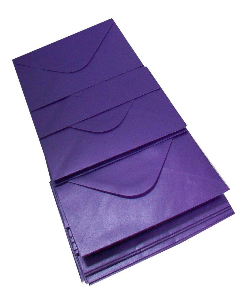 Plic patrat sidefat Deep Purple - poza 2