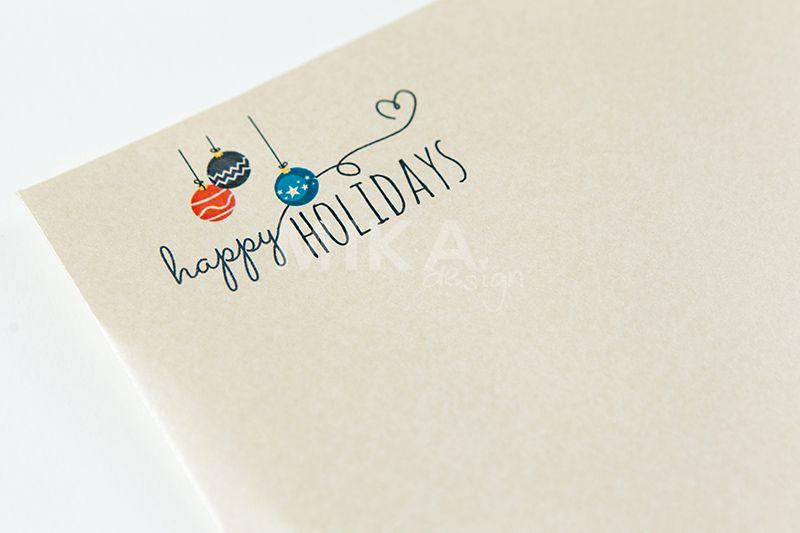 Plic sidefat Happy Holiday - poza 2