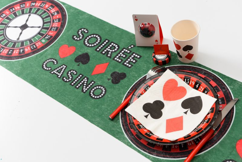 Servetele Poker Party - poza 1