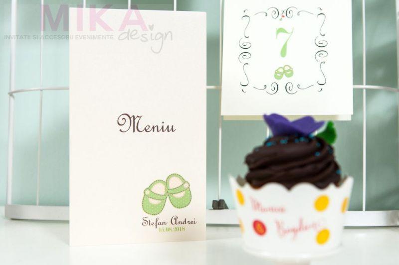 Ambalaj cupcakes multicolor - poza 2