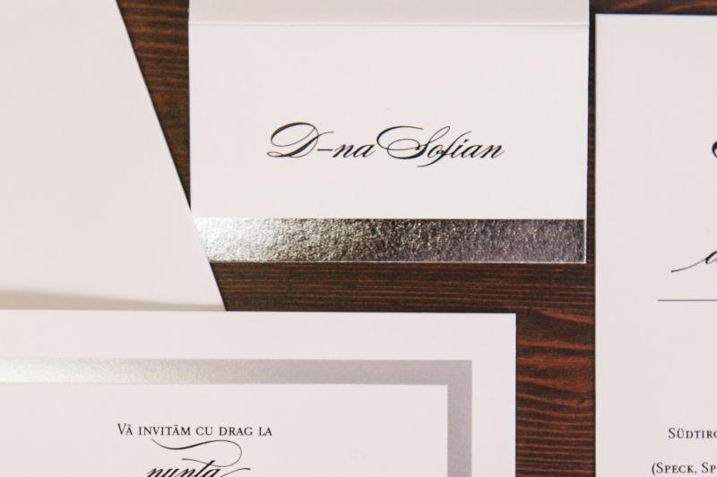 Card  masa cu dunga argintie - poza 1