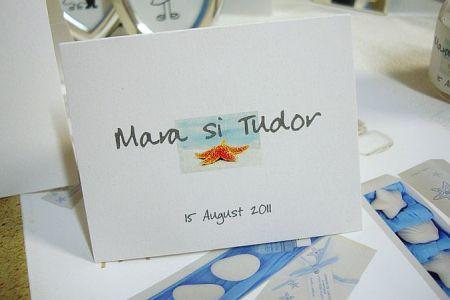 Card masa cu tematica marina - poza 1
