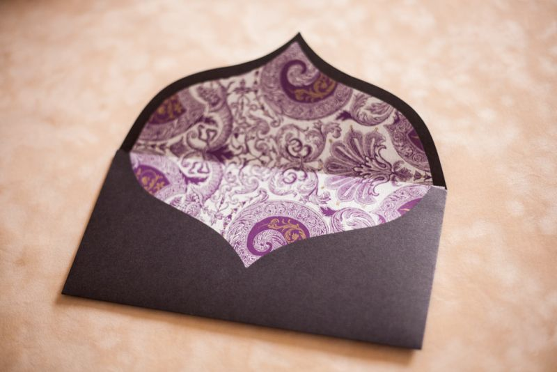 Invitatie nunta eleganta maro - poza 2