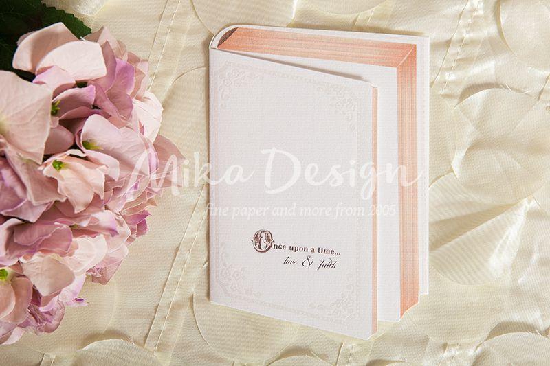 Invitatie nunta in forma de carte - poza 1
