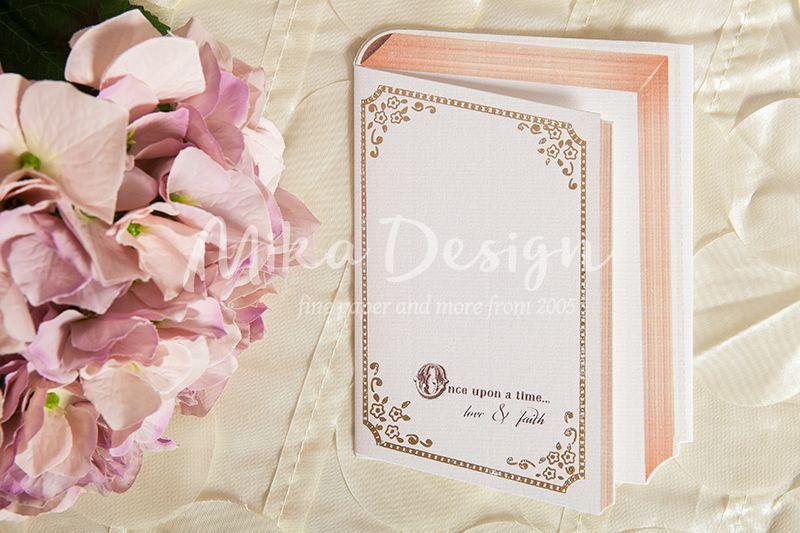 Invitatie nunta in forma de carte - poza 2