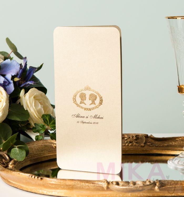 Invitatie vintage eleganta - poza 1