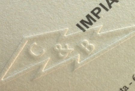 Sigla companie timbru sec - poza 1