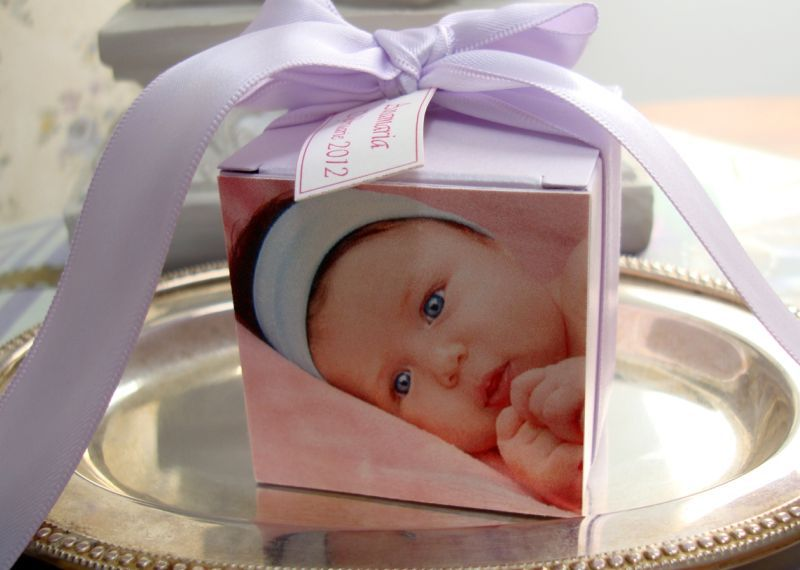 Marturie botez cutiuta cu poza copilului - poza 2