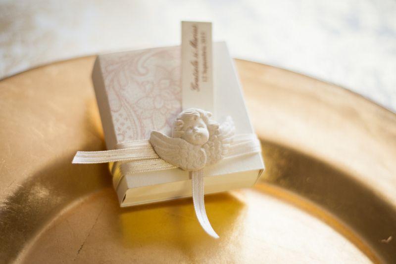 Marturii nunta vintage cu ingerasi - poza 1