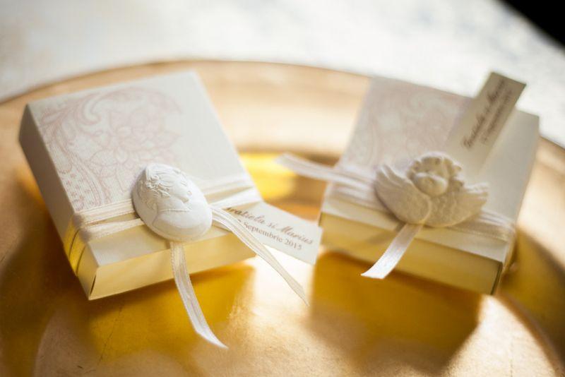 Marturii nunta vintage cu ingerasi - poza 3