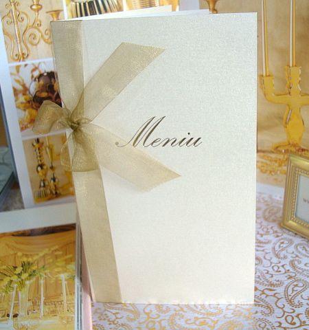 Meniu nunta elegant - poza 3
