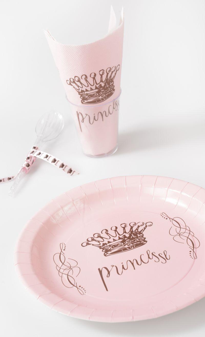 Pahare petrecere Princess - poza 4
