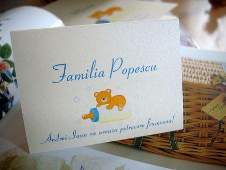 card pentru masa cu nume invitati