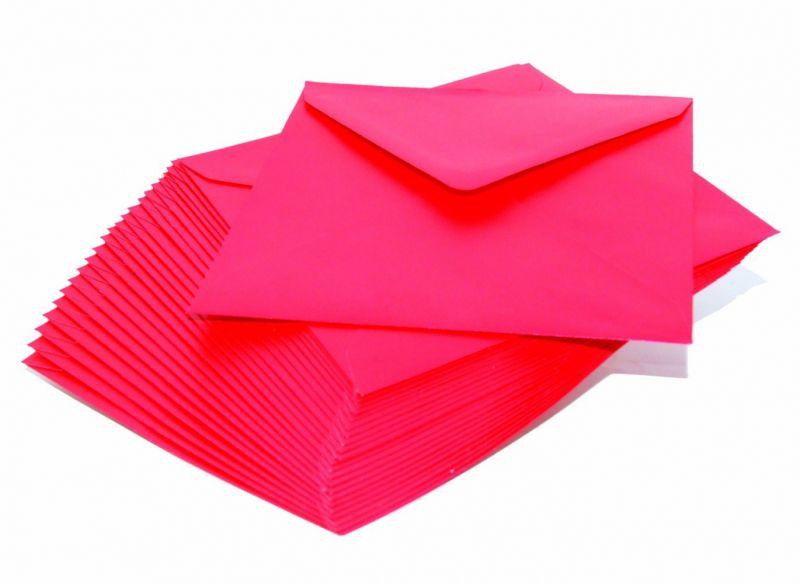 Plic sidefat patrat Xmas Red - poza 2