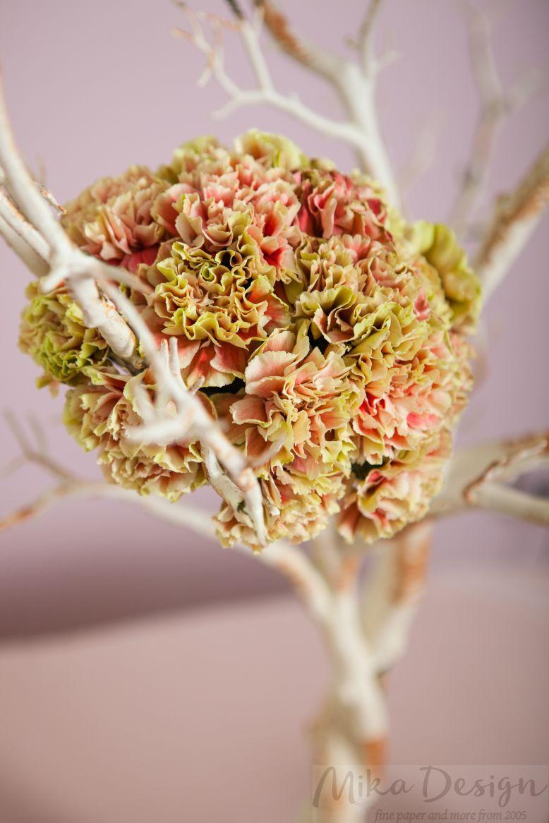 Pomisor decorativ alb natur - poza 2
