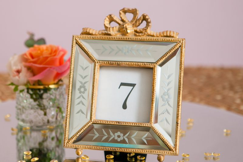 rama foto venetiana pentru numar masa