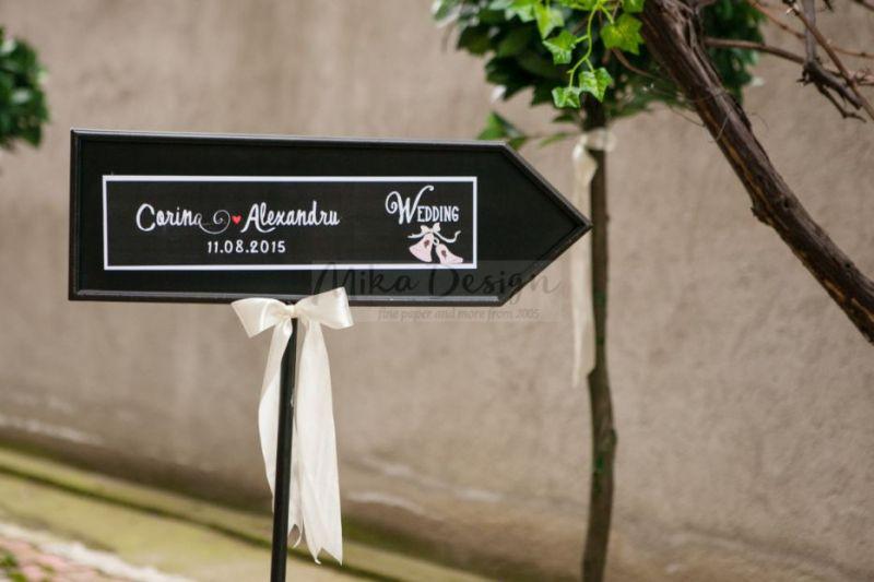 Sageata decoratiuni nunta - poza 2