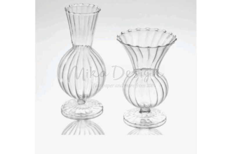 set 2 vase sticla lace