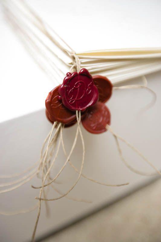 Sigiliu ceara trandafir bordeaux - poza 2