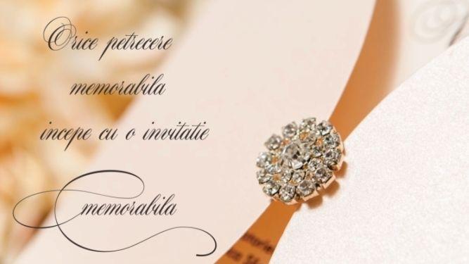 Invitatii nunta de lux
